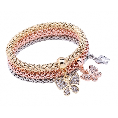 Wholesale Bracelets Butterfly Pendant Bracelet For Women